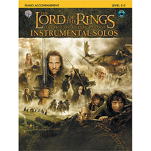 Lord Of The Rings Instrumental Solos Piano Acc.