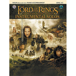 Lord Of The Rings Instrumental Solos Violin
