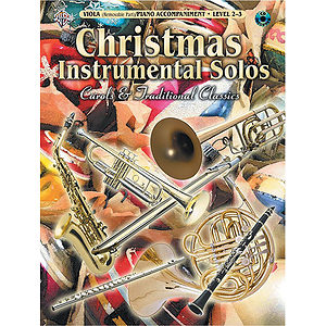 Christmas Instrumental Solos Carols And Traditional For Viola Book And CD