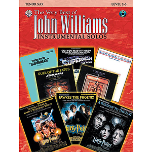 John Williams The Very Best Of For Tenor Sax Book And CD