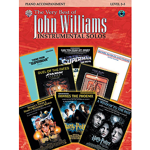 John Williams The Very Best Of For Piano Acc Book And CD