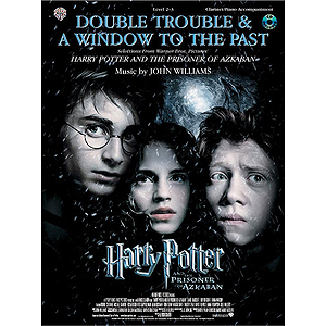 Selections From Harry Potter And The Prisoner Of Azkabna For Clarinet With Piano Acc. Book And CD