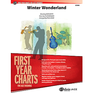 Winter Wonderland  Conductor's Score