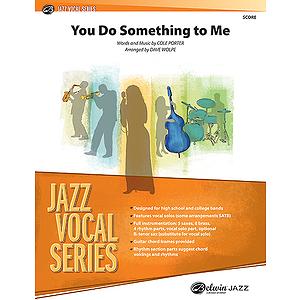 You Do Something To Me Jazz Ensemble With Vocal Conductor's Score