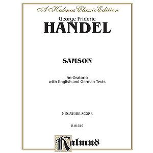 Handel Samson 1743 Ms