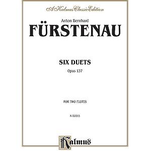 Fuerstenau 6 Duets 2 Flutes (Opus 137)