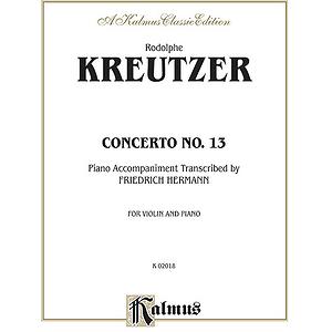 Kreutzer Violin Concerto No.13