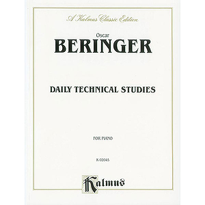 Beringer  Daily Technical Studies For Piano