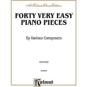 40 Easy Piano Pieces By Various Composers