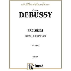 Preludes Complete By Claude Debussy