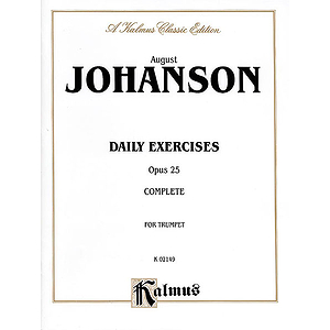 August Johanson  Daily Exercises Opus 25 Complete
