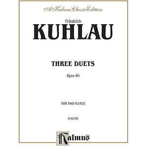 Kuhlau Three Duets Op 80