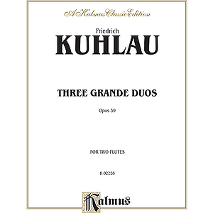 Kuhlau Three Grande Duos Op 39