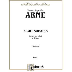 Arne 8 Sonatas Pa