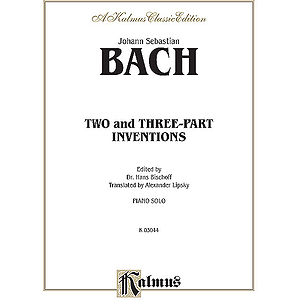Bach 2 & 3 Part Inventions