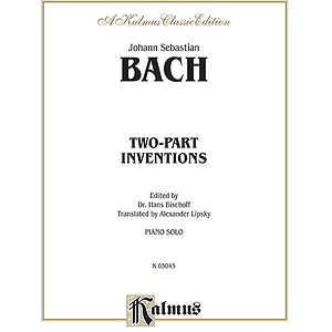 Bach 2 Pt. Inventions/Bischoff