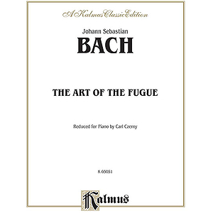 Bach Art Of Fugue-Czerny