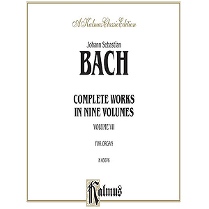 Bach Complete Organ Works Volume Vii (Advanced Organ)