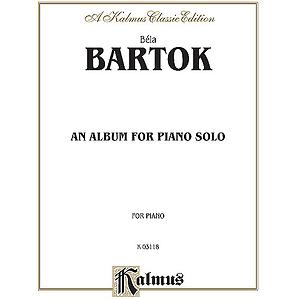 Bartok Album (Piano Solos)