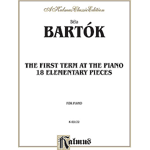 Bartok First Term Pa