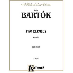 Bartok 2 Elegies Op.8b Pa