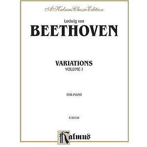 Beethoven Variations Volume 1