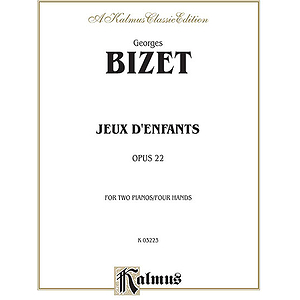 Bizet Jeux D'enfants
