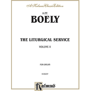 Boely Liturgical Service 2 O