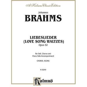 Brahms Lovesongs Op. 52 P.s. V