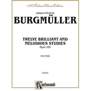 Burgmueller Studies Op.105