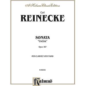 Sonata Clarinet & Piano Op 167