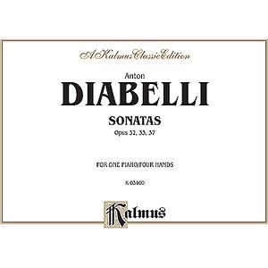 Diabelli Sonatas Op.32,33,37 P