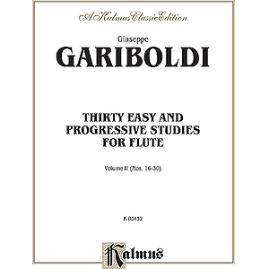 30 Easy And Progressive Studies Volume II (Nos. 16-30)