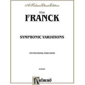 Franck Symphonic Variat. 2p4h