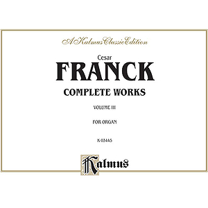 Organ Works Volume 3