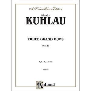 Kuhlau 3 Grand Duos -2 Flutes 2