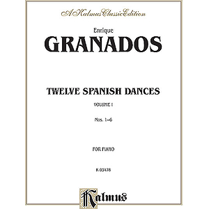 Twelve Spanish Dances Volume I