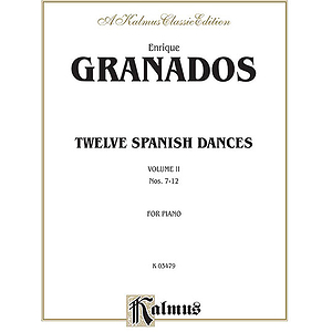 Twelve Spanish Dances Volume II