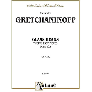 Gretchaninoff Glass Beads