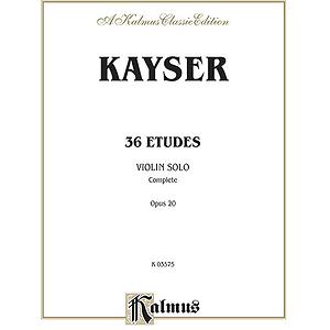36 Etudes Op. 20