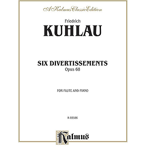 Kuhlau 6 Divert.fl.&pa.op. 68 F