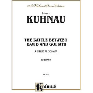 Kuhnau Battle Between David And Goliath