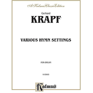 Krapf Various Hymn Settings O