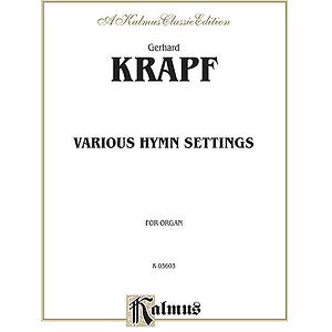 Krapf Various Hymn Settings O
