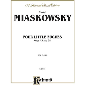 Miaskowsky 4 Little Fugues