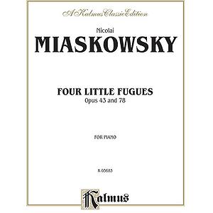 Miaskowsky 4 Little Fugues
