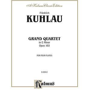 Kuhlau Quartet 4 Fl. Op. 103 4