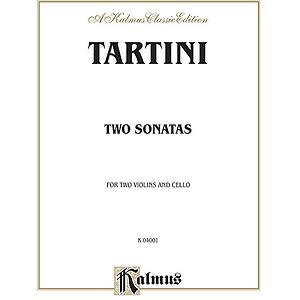 Tartini 2 Sonatas Strg.trio