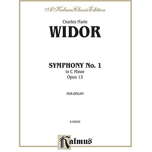 Symphony No. 1 In C Minor Op.13 (Widor)