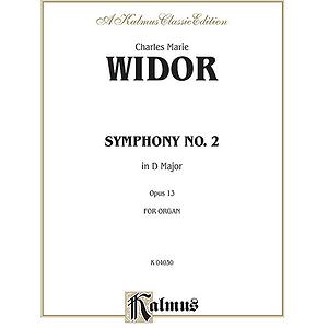 Symphony No. 2 In D Op.13 (Organ)